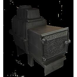 Банная печь чугунная Воевода 15 ДТ-3 (без сетки под обкладку)