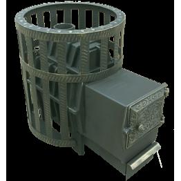 Банная печь чугунная Воевода 20 ДТ-3 (сетка)