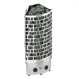 Электрокаменка SAWO ARIES ARI3-45NB-CNR-P угловая (встроенный ПУ с таймером и термостатом)