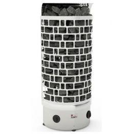 Электрокаменка SAWO ARIES ARI3-45NB-WL-P пристенная (встроенный ПУ с таймером и термостатом)