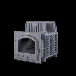 Банная печь чугунная Гефест Гром ПБ-80-Гром