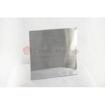 Защитный экран с отв — 500 х 500 — 115 — нерж 0,5 мм