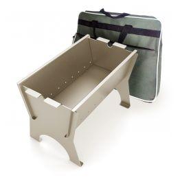 Печь портативная Мангал Миртрудмай-1, облегченный, с сумкой